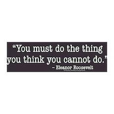 Eleanor Roosevelt 36x11 Wall Peel