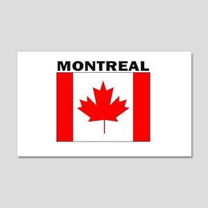 Montreal, Quebec 20x12 Wall Peel