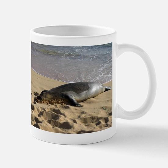 Cute Hawaiian monk seal Mug