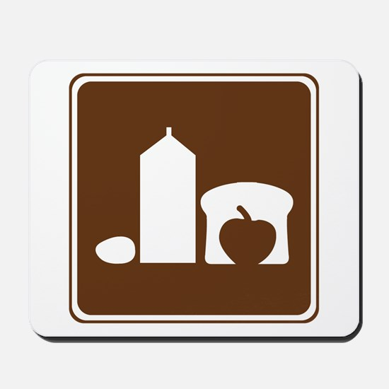 Grocery Sign Mousepad