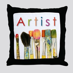 ACEO Art Throw Pillow