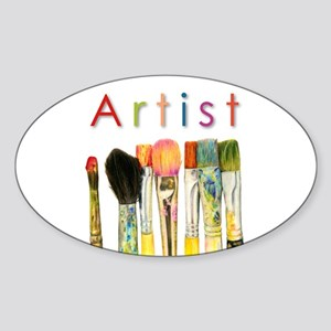 ACEO Art Sticker (Oval)
