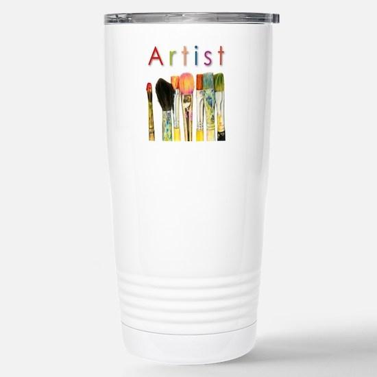 ACEO Art Stainless Steel Travel Mug