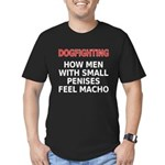 Dogfighting... Men's Fitted T-Shirt (dark)