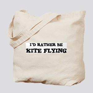 Rather be Kite Flying Tote Bag