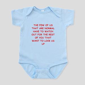 paranoid Infant Bodysuit