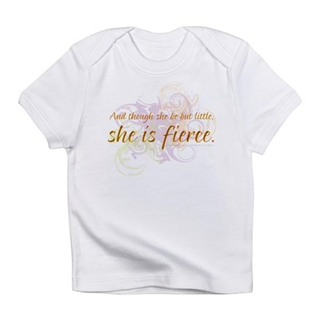She is Fierce - Swirl Infant T-Shirt