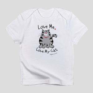 Love My Cat Creeper Infant T-Shirt