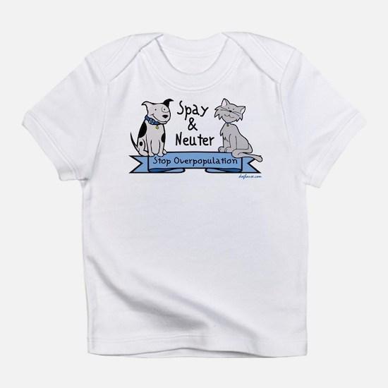 Stop Overpopulation Creeper Infant T-Shirt