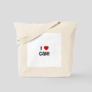 I * Cale Tote Bag