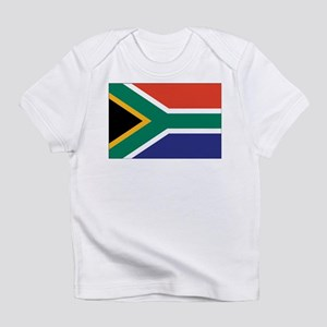 South Africa Flag Creeper Infant T-Shirt