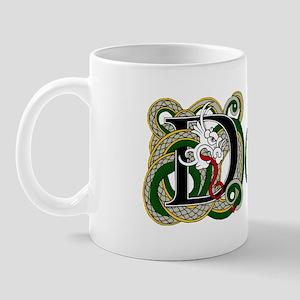 Dolan Celtic Dragon Mug