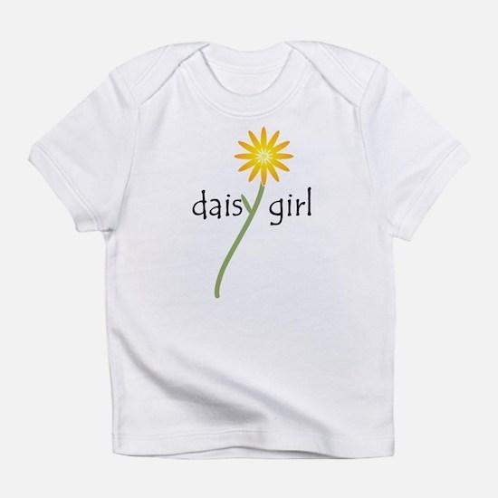Yellow Daisy Girl Infant T-Shirt