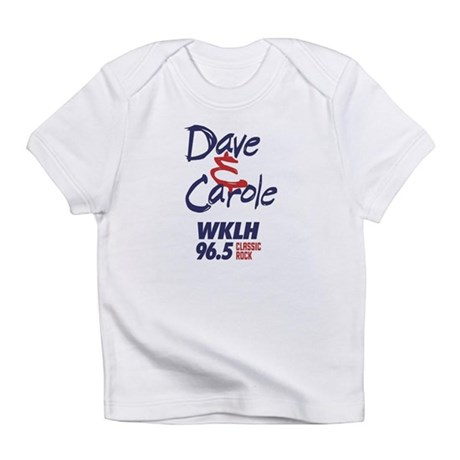 Dave and Carole one-sie Infant T-Shirt