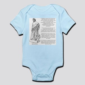 Hippocratic Oath Infant Bodysuit