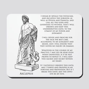 Hippocratic Oath Mousepad