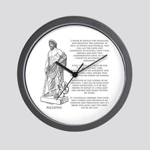 Hippocratic Oath Wall Clock