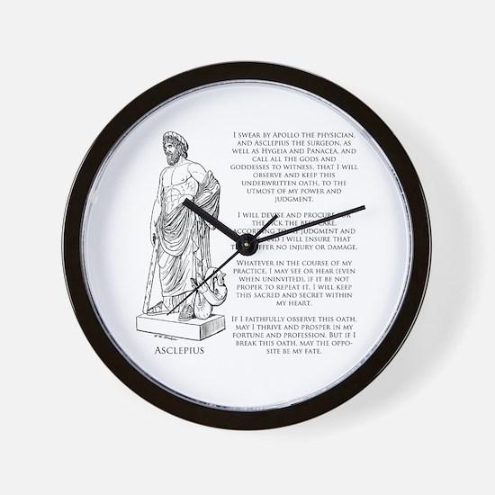 Hippocratic Oath Wall Clock