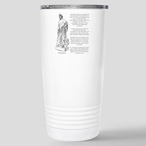 Hippocratic Oath Stainless Steel Travel Mug