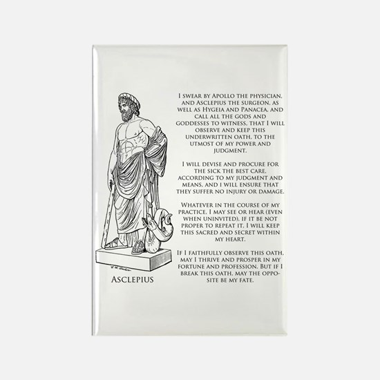 Hippocratic Oath Rectangle Magnet (10 pack)