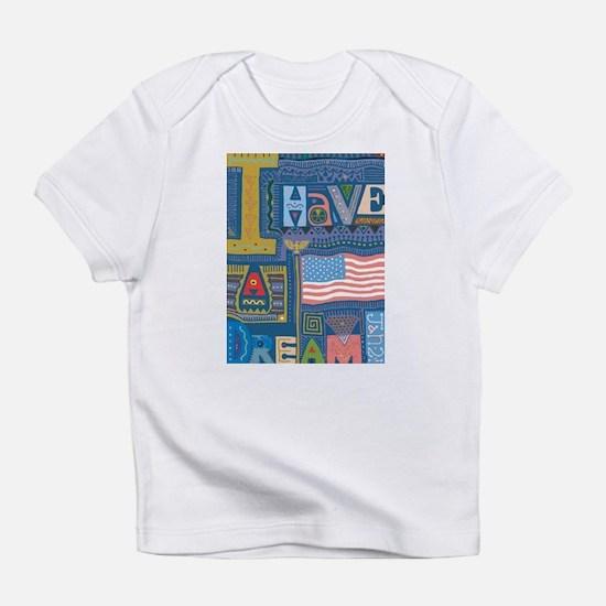 I Have A Dream Creeper Infant T-Shirt