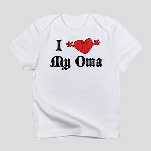 I Love My Oma Infant T-Shirt