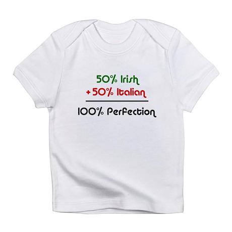 Half Italian, Half Irish Creeper Infant T-Shirt