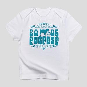 PUGSTOCK 06 logo Creeper Infant T-Shirt