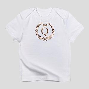 Napoleon Initial Q Creeper Infant T-Shirt