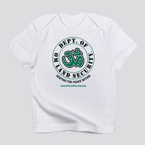 Om Land Security (Lt Blue) Infant T-Shirt