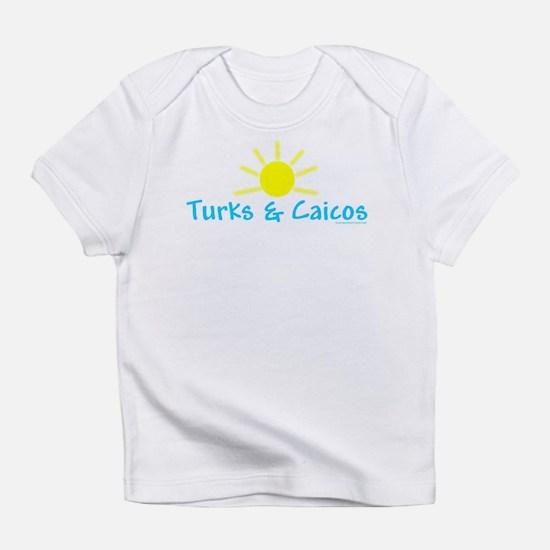Turks & Caicos Sun - Creeper Infant T-Shirt