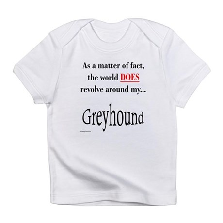 Greyhound World Infant T-Shirt