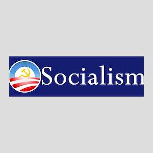 Obama Socialism 36x11 Wall Peel