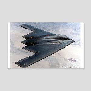 B2 Stealth Bomber In Flight 20x12 Wall Peel
