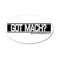 Got Mach 20x12 Oval Wall Peel