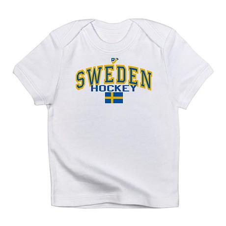 SE Sweden(Sverige) Hockey Infant T-Shirt