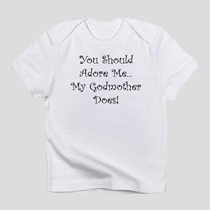 you should adore me Creeper Infant T-Shirt