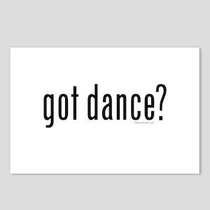 got dance? by DanceShirts.com Postcards (Package o