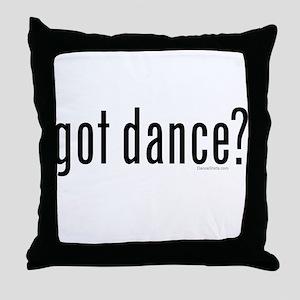 got dance? by DanceShirts.com Throw Pillow