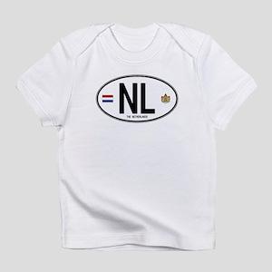 Netherlands Intl Oval Infant T-Shirt