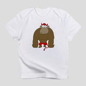 Evil Monkey <br> Creeper Infant T-Shirt