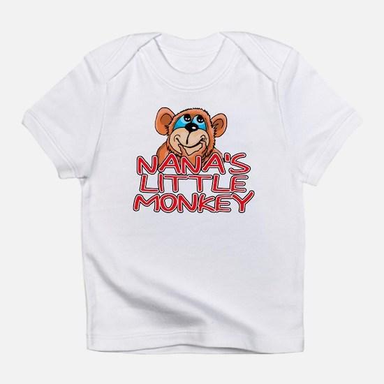 Nana's Little Monkey Creeper Infant T-Shirt