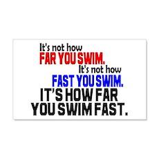 Swim Fast 20x12 Wall Peel