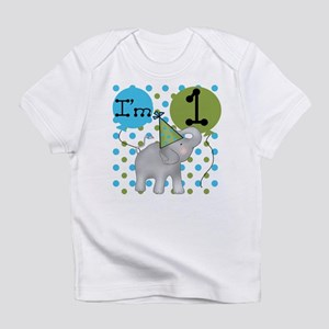 Elephant 1st Birthday Infant T-Shirt