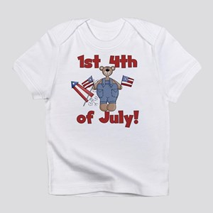 Bear First 4th of July Infant T-Shirt
