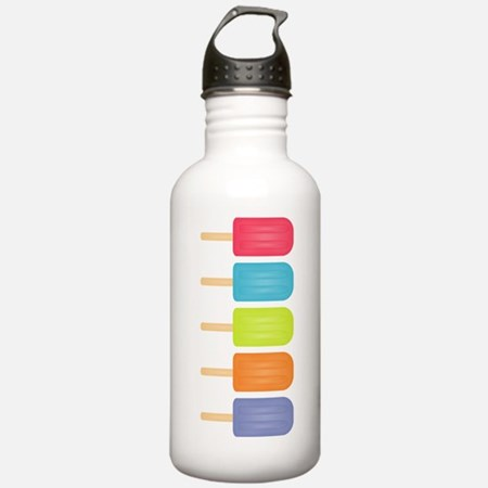 Colorful Popsicles Stainless Water Bottle 1.0L