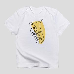 Tuba Creeper (Gold) Infant T-Shirt