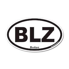 Belize BLZ Euro 20x12 Oval Wall Peel