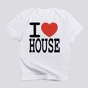 I love House Music Creeper Infant T-Shirt