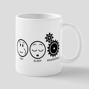 Eat Sleep Engineering 11 oz Ceramic Mug